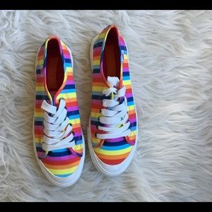 Rocket Dog Rainbow sneakers size 8